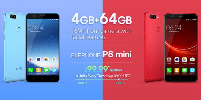 Elephone P8 Mini mejor precio
