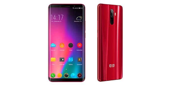 Elephone U Pro rojo