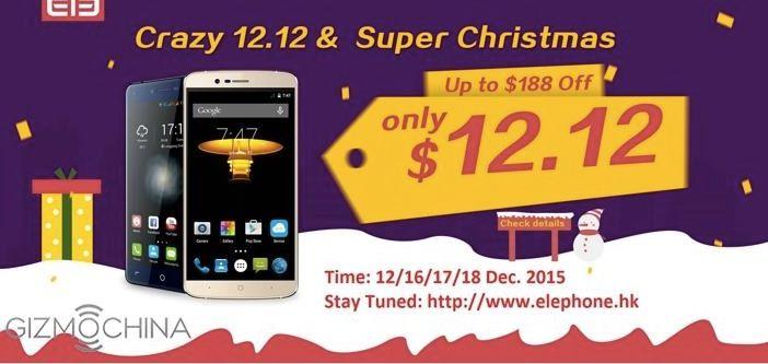 Elephone en oferta el 12 de diciembre