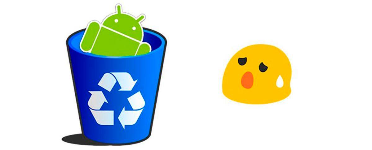 Eliminar archivos basura Android