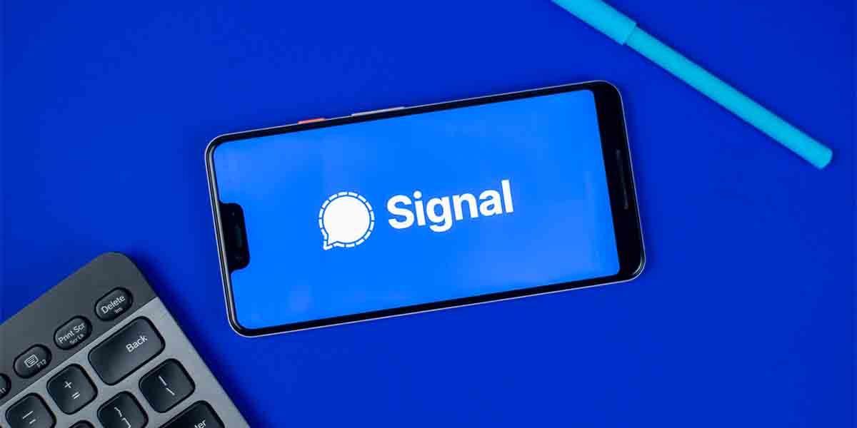 Eliminar mensajes por defecto Signal