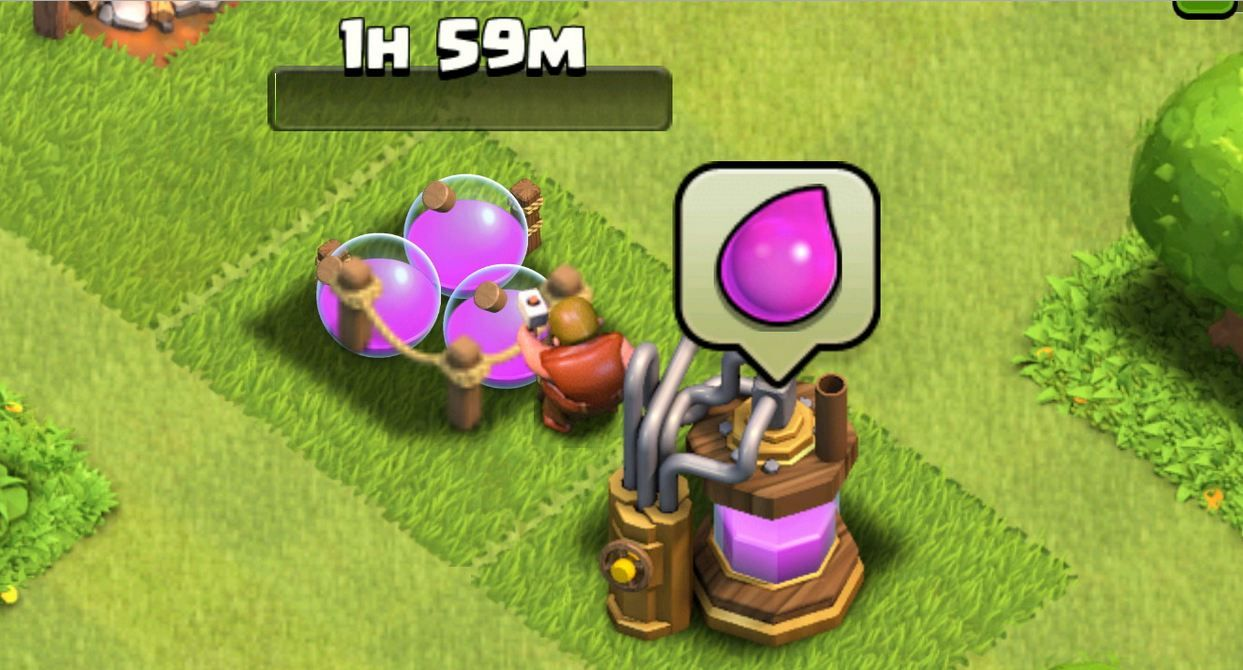 Elixir en Clash of Clans