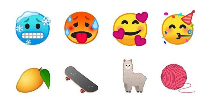 Emojis de Android P