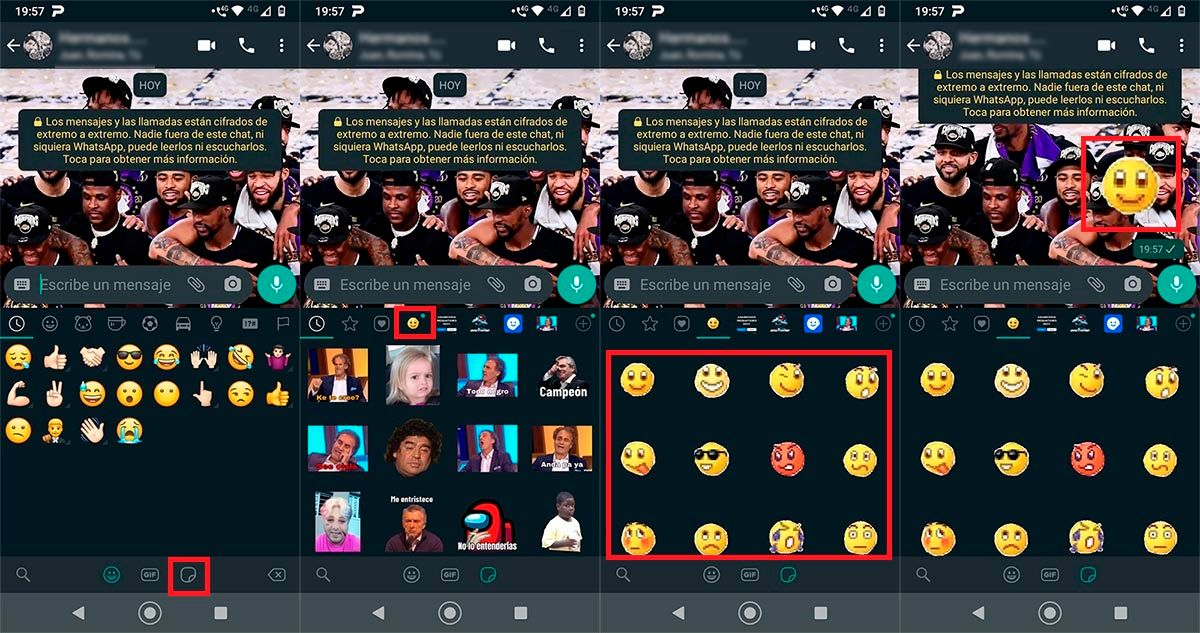 Emojis de MSN para WhatsApp Android