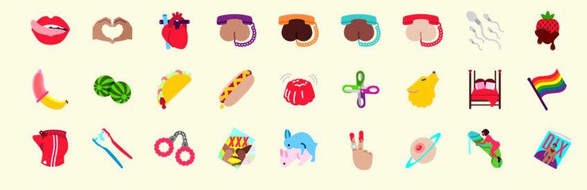 Emojis eróticos para WhatsApp