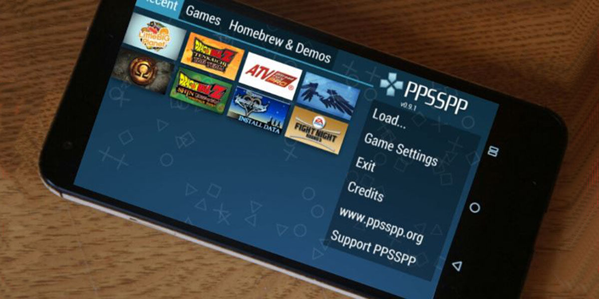 Emualdores PSP para Android