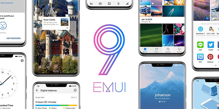 Emui 9 con Android Pie 9