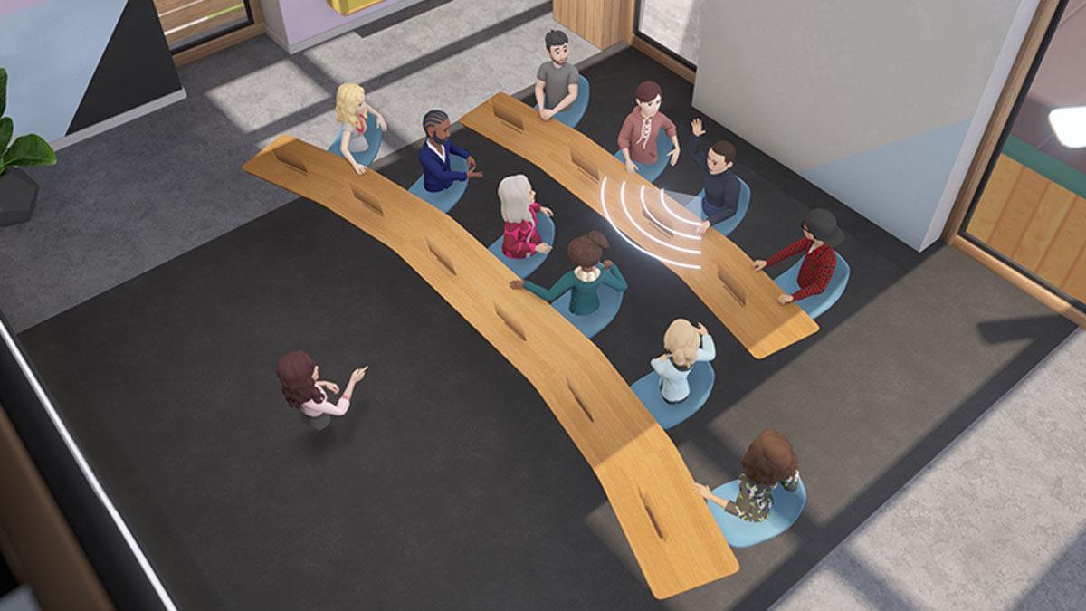 En qué consisten las reuniones en VR de Facebook en Horizon Workrooms para trabajadores