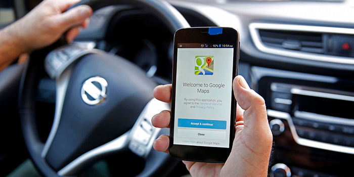 Encontrar el coche con Google Maps
