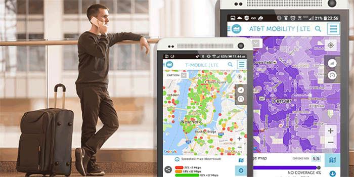 Encontrar mejor cobertura 3G y 4G con Sensorly
