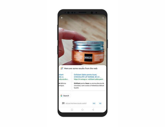 Encontrar productos Google Lens