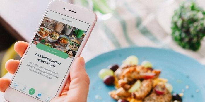 Encontrar recetas de comida desde el móvil