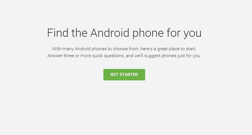 Encuentra el smartphone Android para ti