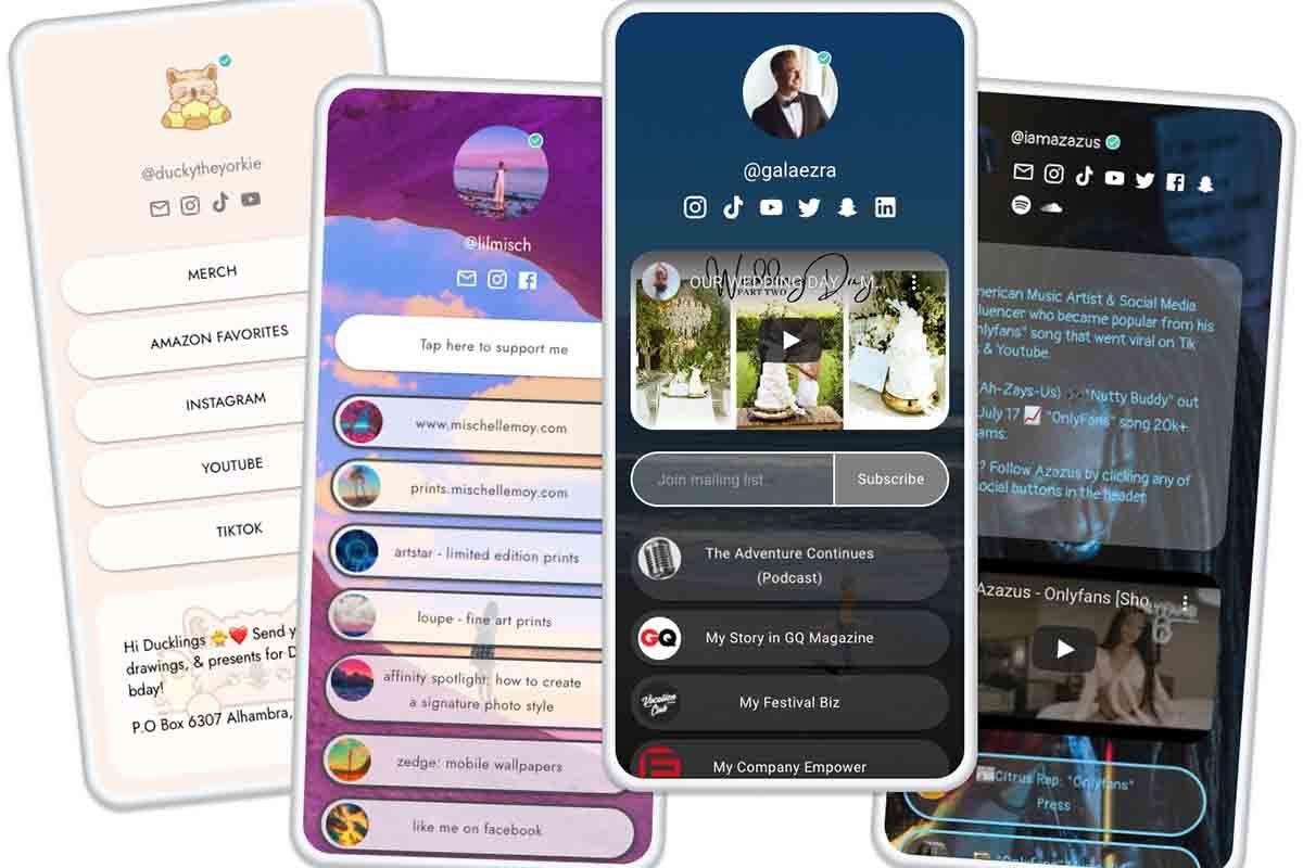 Enlaces en Instagram con Beacons