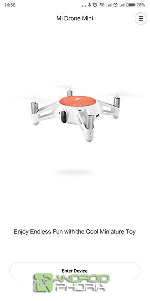 Enlazar dron Xiaomi Mitu
