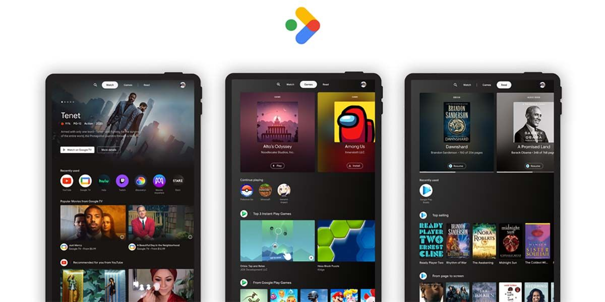 entertainment space disponibilidad tablet android