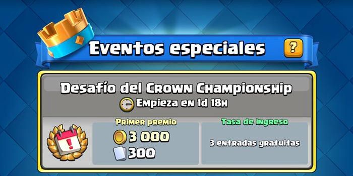 Entrar Crown Championship