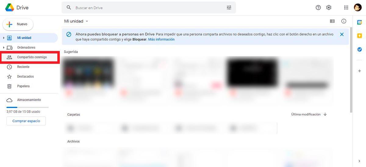 Entrar en Google Drive