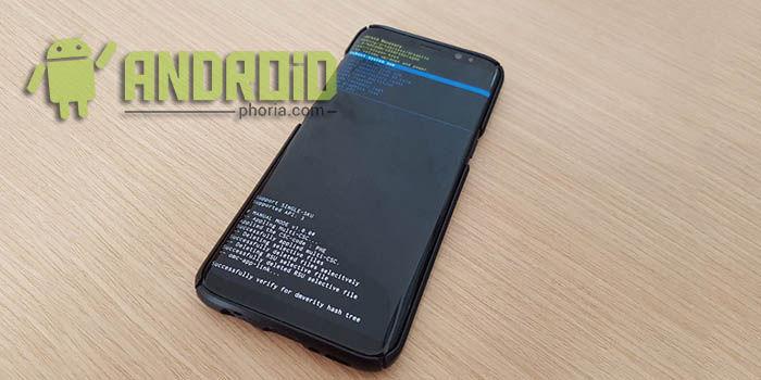 Entrar recovery Galaxy S8