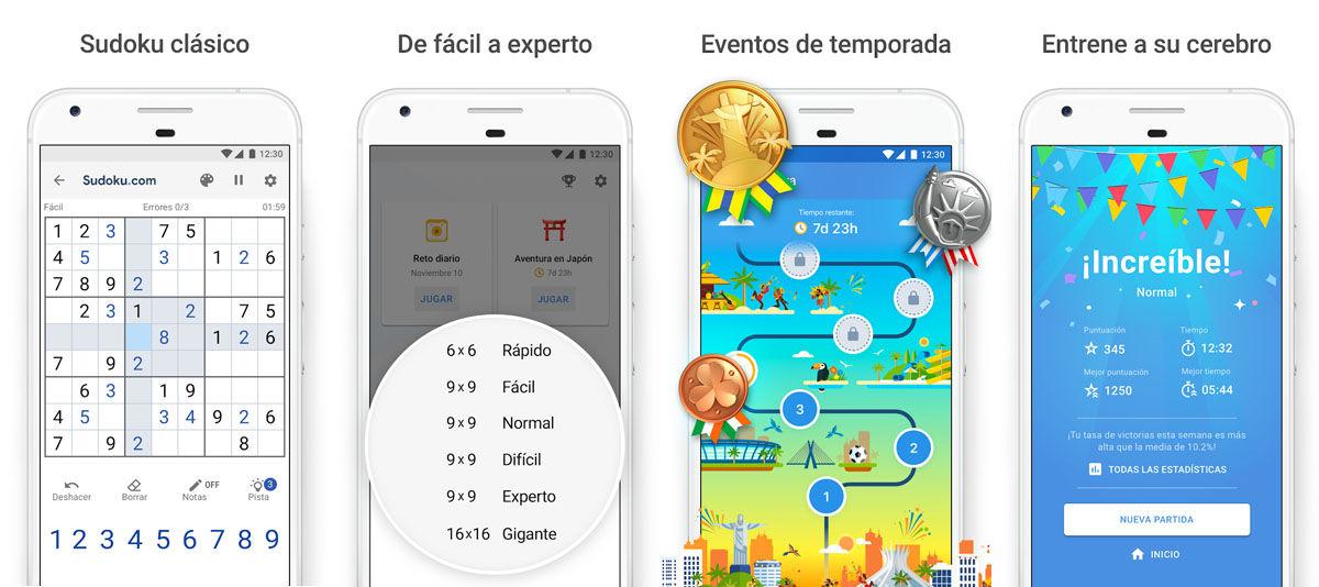 Entrena tu cerebro a diario con las 5 mejores apps apra resolver Sudokus donde quieras