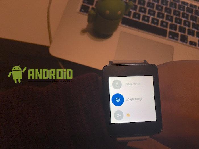 Enviar mensajes de WhatsApp en Android Wear