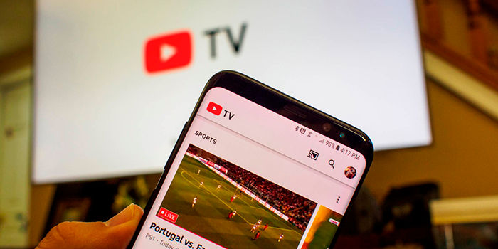 Enviar videos de YouTube al televisor Android