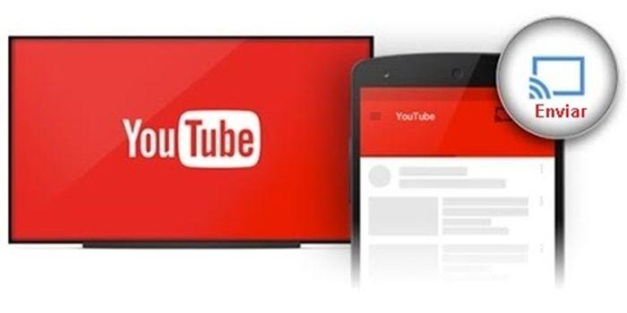Enviar videos de Youtube del móvil al TV