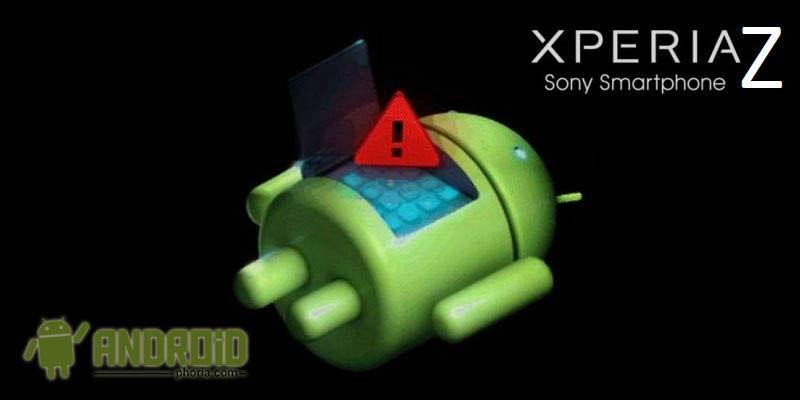 Error al encender Sony Xperia