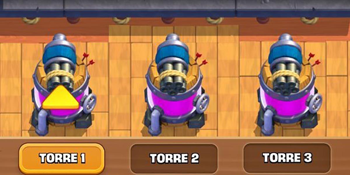 Error defensas Clash Royale