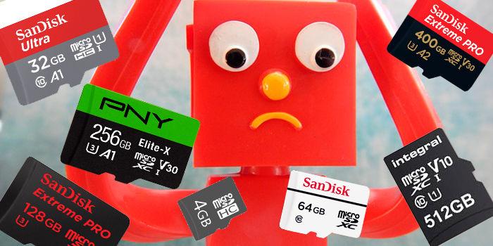 Errores al comprar microSD