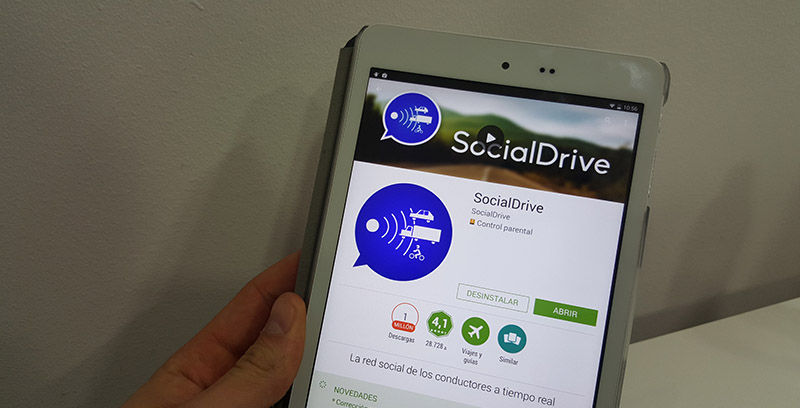 Es legal usar Socialdrive