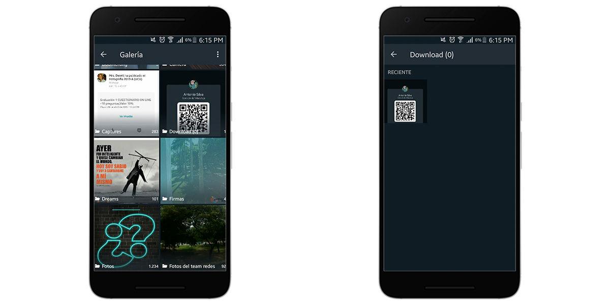 Escanear código QR en Whatsapp Business