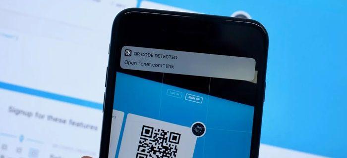 Escaner de codigos qr integrado en S9