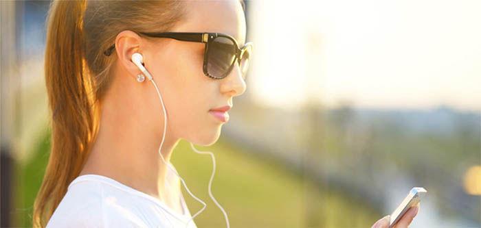 Escuchar musica en un movil