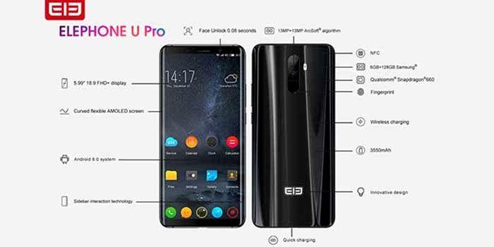 Especificaciones Elephone U Pro