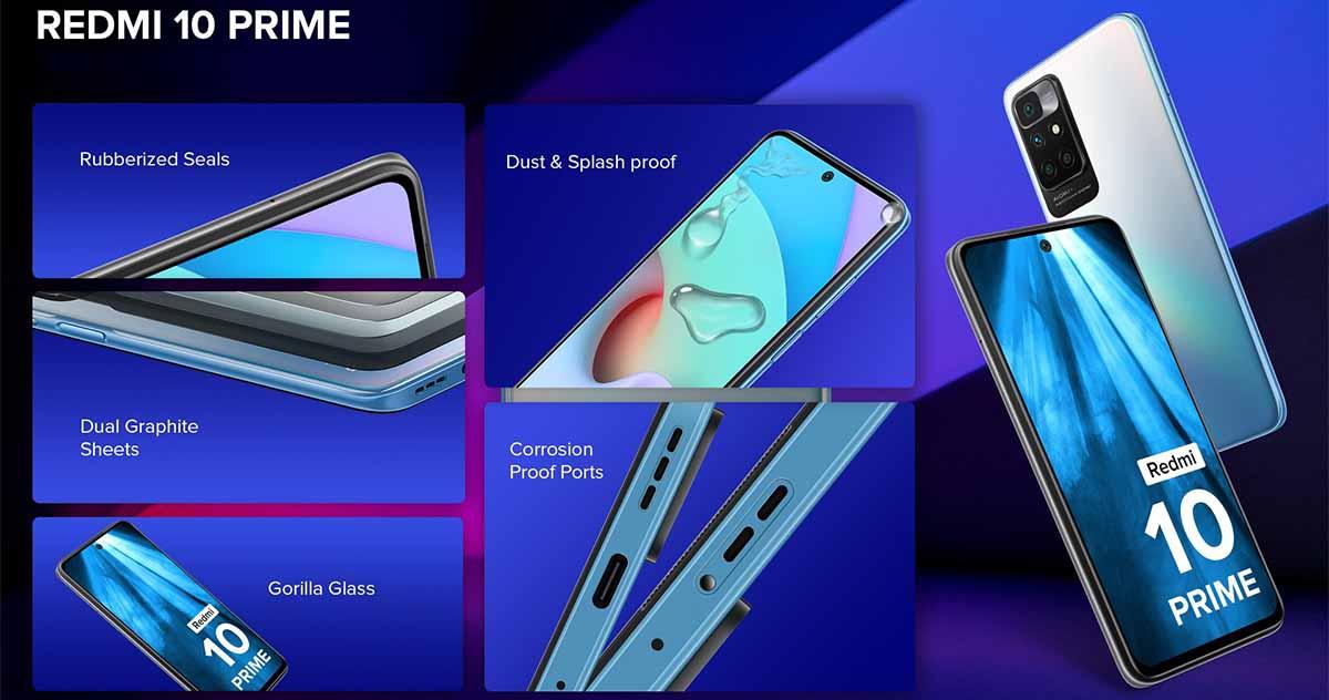 Especificaciones Redmi 10 Prime