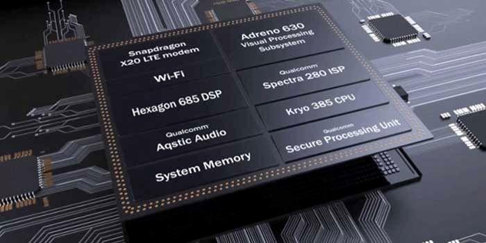 Especificaciones Snapdragon 845