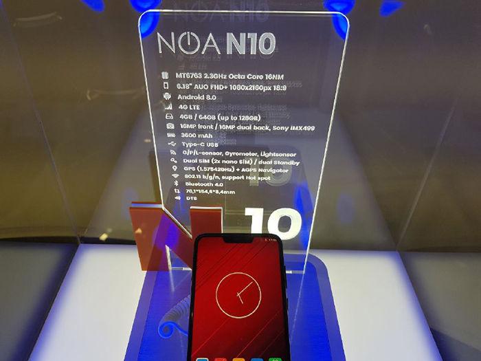 Especificaciones del NOA N10