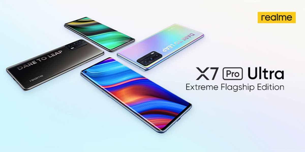 Especificaciones del Realme X7 Pro Ultra