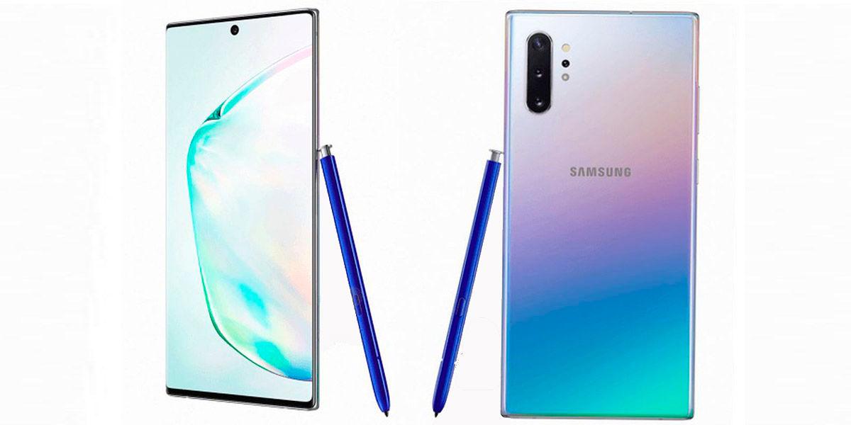 Especificaciones filtradas del Samsung Galaxy Note 10