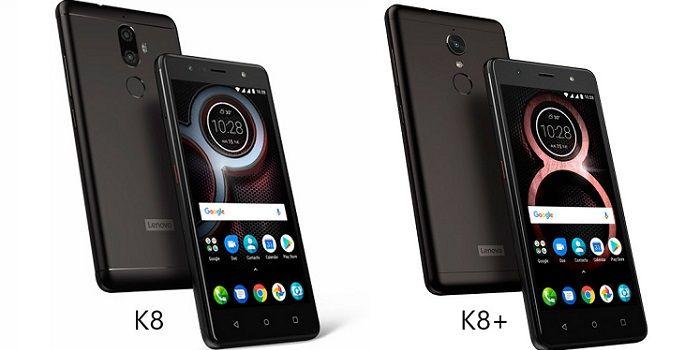 Especificaciones y precio del Lenovo K8 y K8 Plus