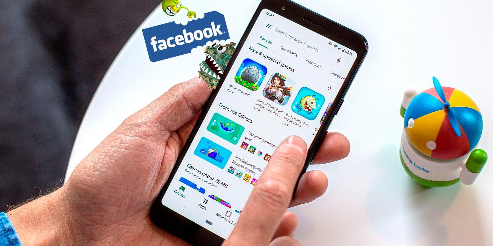 Estas apps pueden robar tu contraseñaa de Facebook