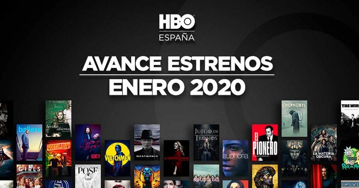 Estos son los estrenos de películas y series de HBO para enero del 2020