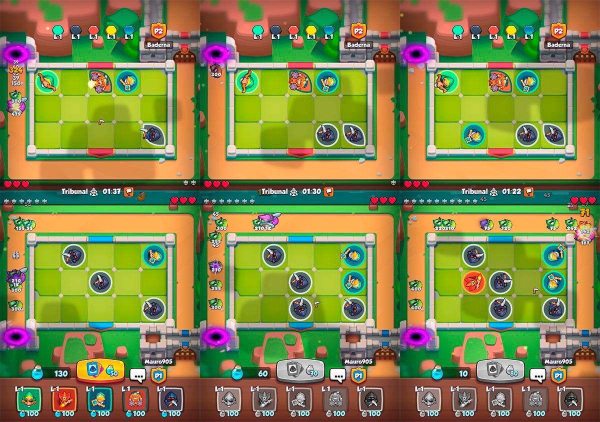 Estrategia de ataque Rush Royale