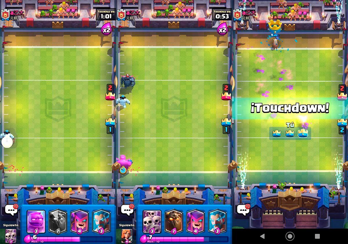 Estrategia para desafio Megatouchdown Clash Royale
