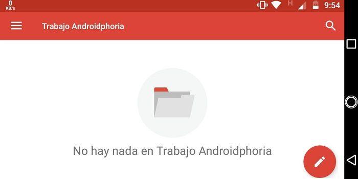 Etiquetas para organizar el correo en Android