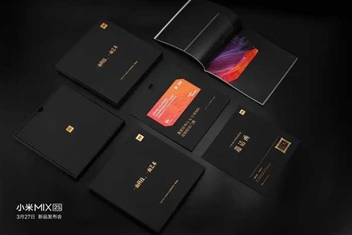 Evento Xiaomi Mi MIX 2S