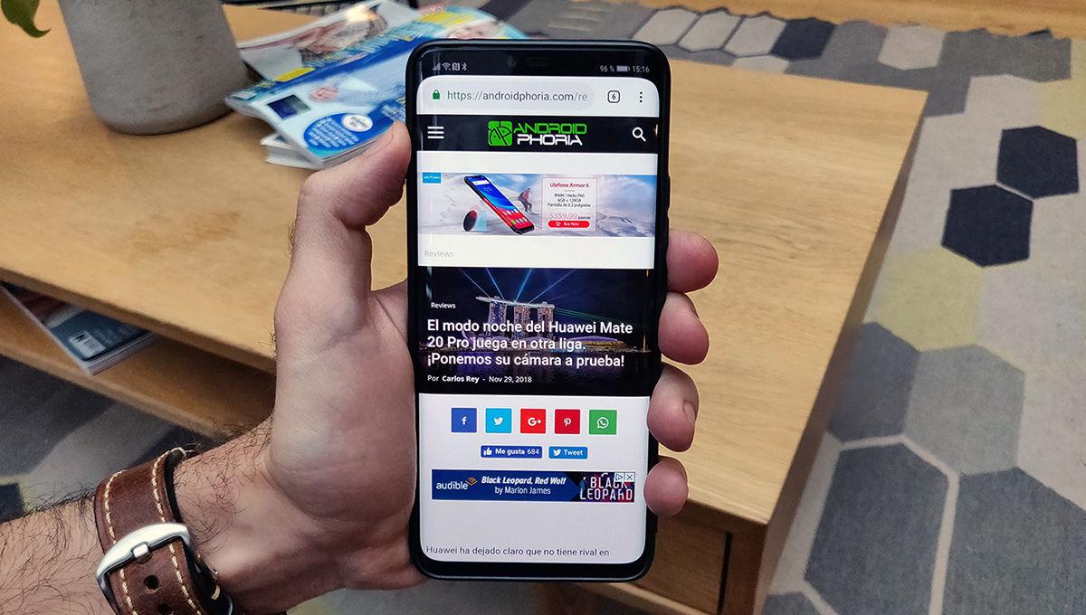 Experiencia de uso con Huawei Mate 20 Pro