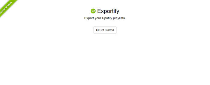 Exportify captura