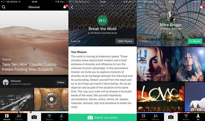 EyeEm para Android